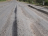 Squidgy road surface
