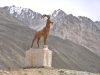 Tajiki monument... I think it's an ibex